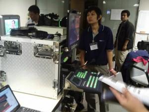 ภาพการติดตั้งใช้งาน MS900+CKL200 ที่ ASTV
