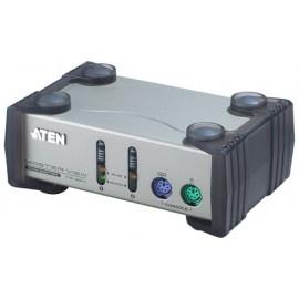 2-port PS/2 Desktop KVM Switch