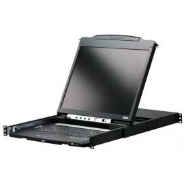 ATEN LCD Rack Mount Monitor 8-Port KVM Switch