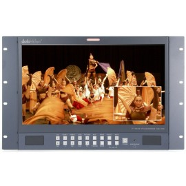 17.3 inch HD-SDI high-quality reference monitors 7U rack mountable