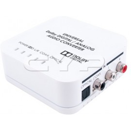 Universal Digital / Analog Audio Converter with Dolby Digital Decoder