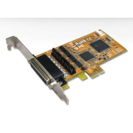 4-port RS-232 High Speed PCI Express Serial Board With Power Output