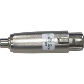 XLR to RCA Adaptor / Attenuator