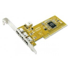 3+1 port IEEE1394A PCI Card