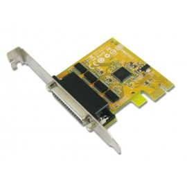 4-port RS-232 High Speed PCI Express Card