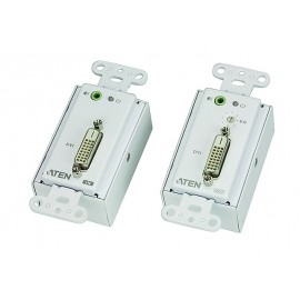 DVI Over Cat 5 Extender Wall Plate
