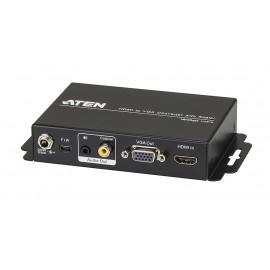 HDMI to VGA Converter with Scaler
