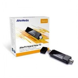 USB DVB-T2 and Analog TV Tuner with FM by Avermedia