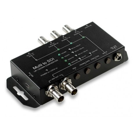 Multi-format to 3G/HD/SD-SDI Up/Down/Cross Converter