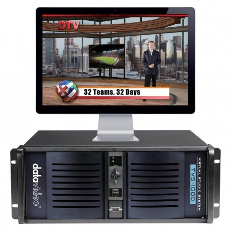 Datavideo Trackless Virtual Studio System
