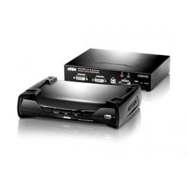 DVI KVM Over IP Extender