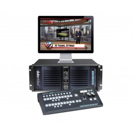 2 SDI Camera Virtual Studio System