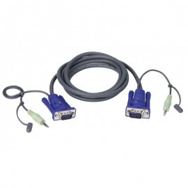 ATEN VGA Cable with Audio 2 m