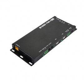 HDMI over HDBaseT Slimline Receiver with USB and Optical Audio Return