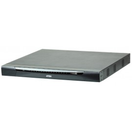 1-Local / 4-Remote access 32-Port KVM over IP Switch with Dual Power/LAN