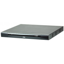 1-Local / 4-Remote access 16-Port KVM over IP Switch with Dual Power/LAN