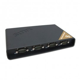 DevicePort Advanced Mode Ethernet enabled 4-port RS-232 Port Replicator