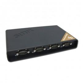 แปลง Serial RS232 4 พอร์ต เป็น LAN ช่วยเพิ่ม com port ให้พีซี, โน๊ตบุ๊ค (Advance Mode)