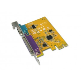 1-port RS-232 & 1-port Parallel PCI Express Multi-I/O Board
