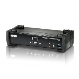 2-Port USB 3.0 4K DisplayPort KVMP™ Switch
