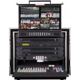 ชุดเครื่องผสมสัญญาณภาพ Mobile Video Studio 12 CH HD/SD