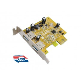 USB 3.0 Dual ports PCI Express Low Profile Host Controller