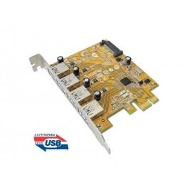 USB 3.0 4-port PCI Express Host Controller