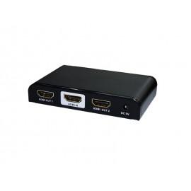 4K HDMI Splitter 1x2 output 25m, CEC