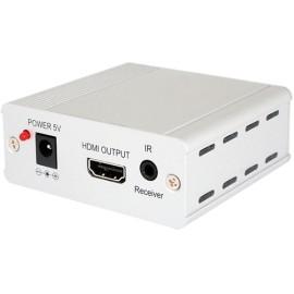 HDMI/IR to Dual CAT6/7 Receiver