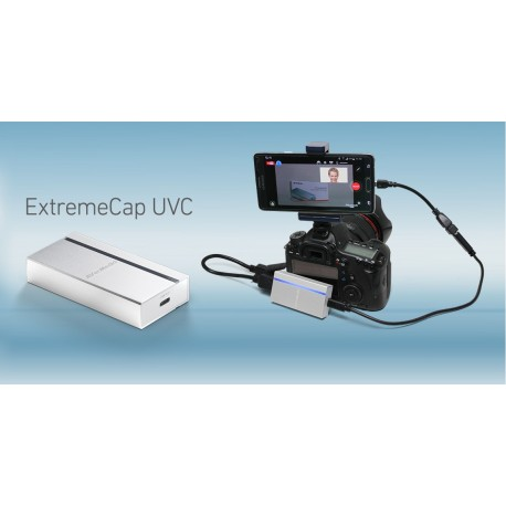 ExtreamCap UVC HDMI to USB 3.0 converter Pro streaming on the go