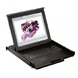 "LCD Console Drawer 1U 17"""