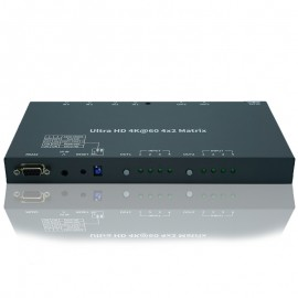 4K HDMI Matrix Switcher 4 Input x 2 Output (4:4:4@60Hz)