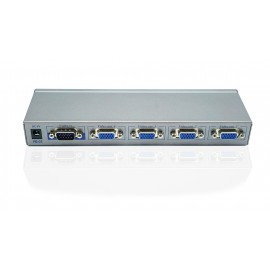 VGA Video Splitter 4-Port Enhanced Video Bandwidth, Cascadable