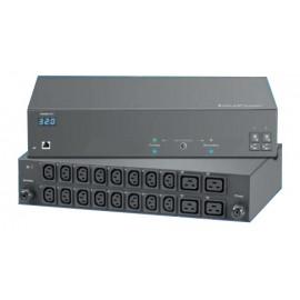 Switched PDU + Outlet Measurement 16A : C13 x 16 + C19 x 4