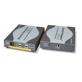 FireWire-800 Transceiver transmission of FireWire signals over optical fibres