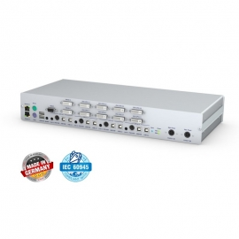 4 PORT 4K 2CH DVI KVM SWITCH IN MISSION-CRITICAL APPLICATIONS