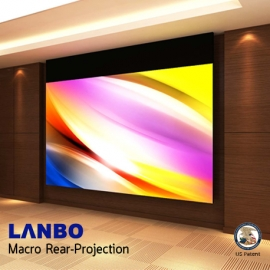 LANBO Macro Rear Projection 145 - 216""
