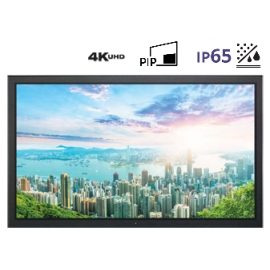 "Professional and Versatile 16:9 (4K / FHD) 65"" LED Monitor"