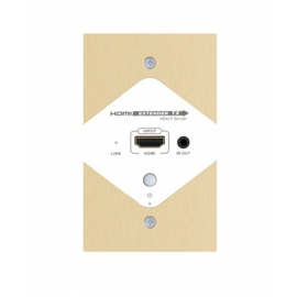 HDbitT HDMI over IP CAT6 Wall Plate Extender