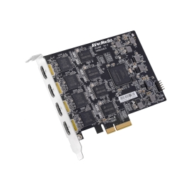 4-Channel Full HD HDMI PCIe Capture Card