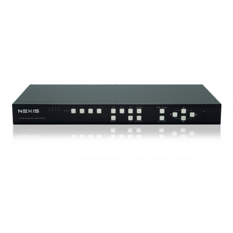 4-Port HDMI Switch with Multi-view