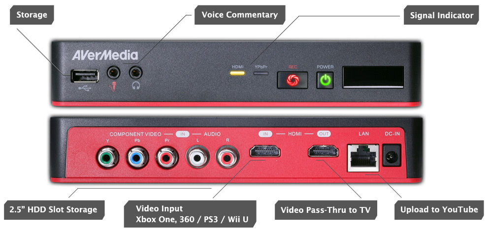 how to start recording with game capture hd