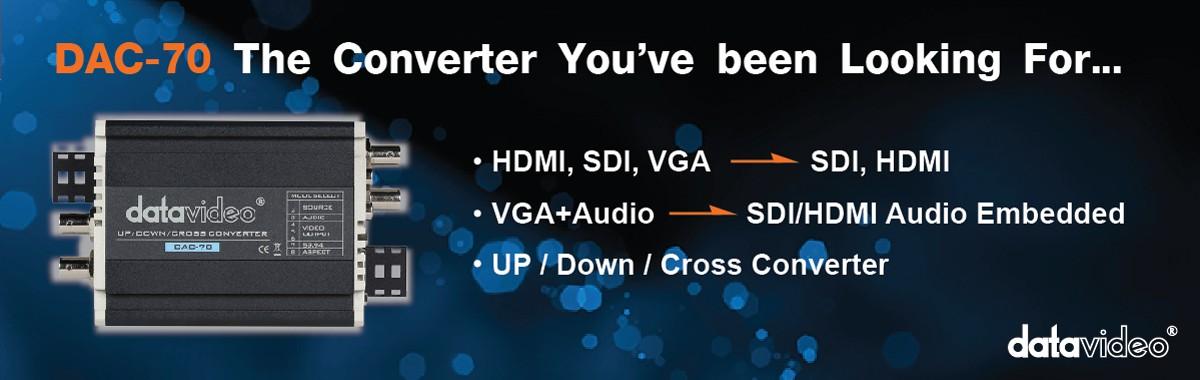 DAC70 VGA/HDMI/SDI to SDI/HDMI