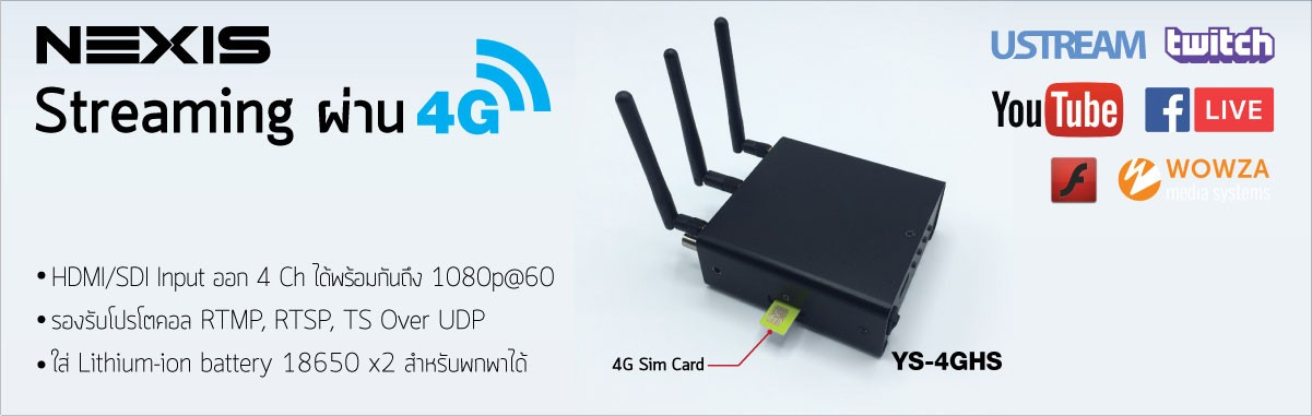 4G streaming box