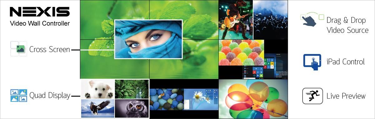 Nexis Video Wall Controller H-Series