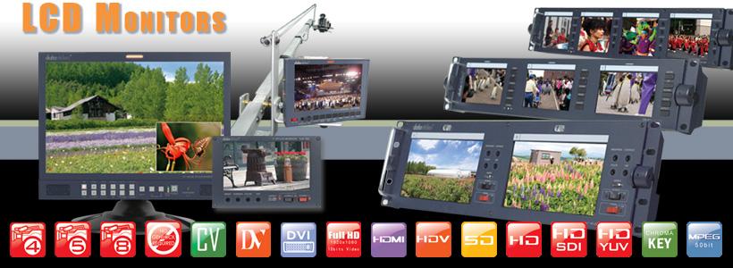 อุปกรณ์วิดีโอ เช่น Video Switcher/Mixer, การ์ดซ้อนภาพ ทำ Chromakey, Video Converter, monitor, เครื่องบันทึกวิดีโอลงฮาร์ดดิสก์, ทำ streaming และชุด Mobile Video เหมาะสำหรับเคลื่อนย้ายไปใช้งานนอกสถานที่
