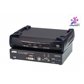 2K DVI-D Dual Link KVM over IP Extender with PoE