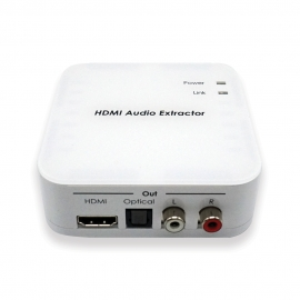 HDMI to HDMI/TOSLINK/RCA Audio Extractor
