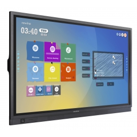 "75"" 4K Interactive Touch Screen Display"