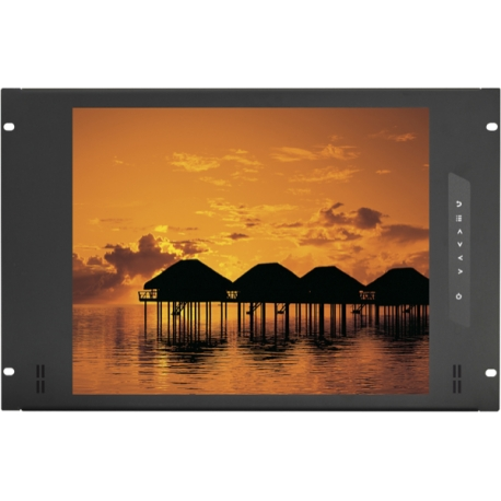8U 19″ Sunlight Readable Display Panel